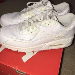 White air max 90 size 10.5